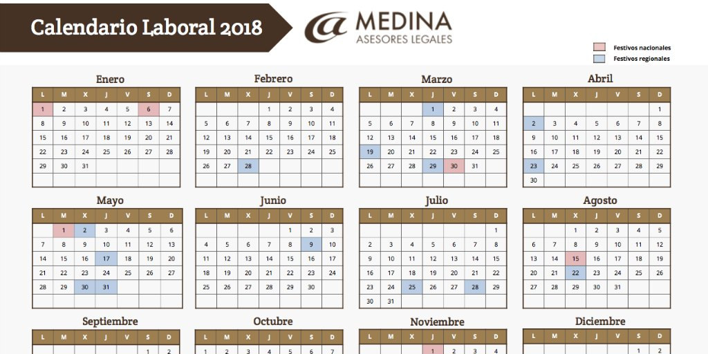 Calendario laboral 2018 fiestas locales madrid newcalendar for Calendario eventos madrid