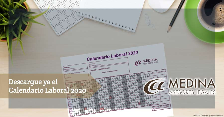 Descargar calendario laboral 2020 gratis